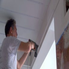 How to install stretch ceiling?