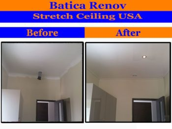 St Augustine ceiling repair solution by Stretch Ceiling