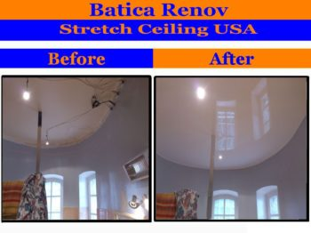 St Petersburg acoustic film fabric stretch ceiling membrane