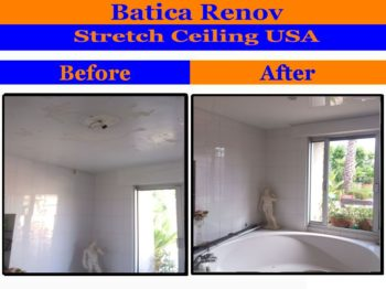 St Augustine FL popcorn ceiling solution stretch ceiling