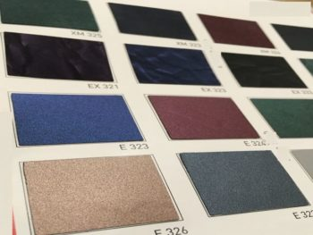 Jacksonville stretch ceiling panel colors